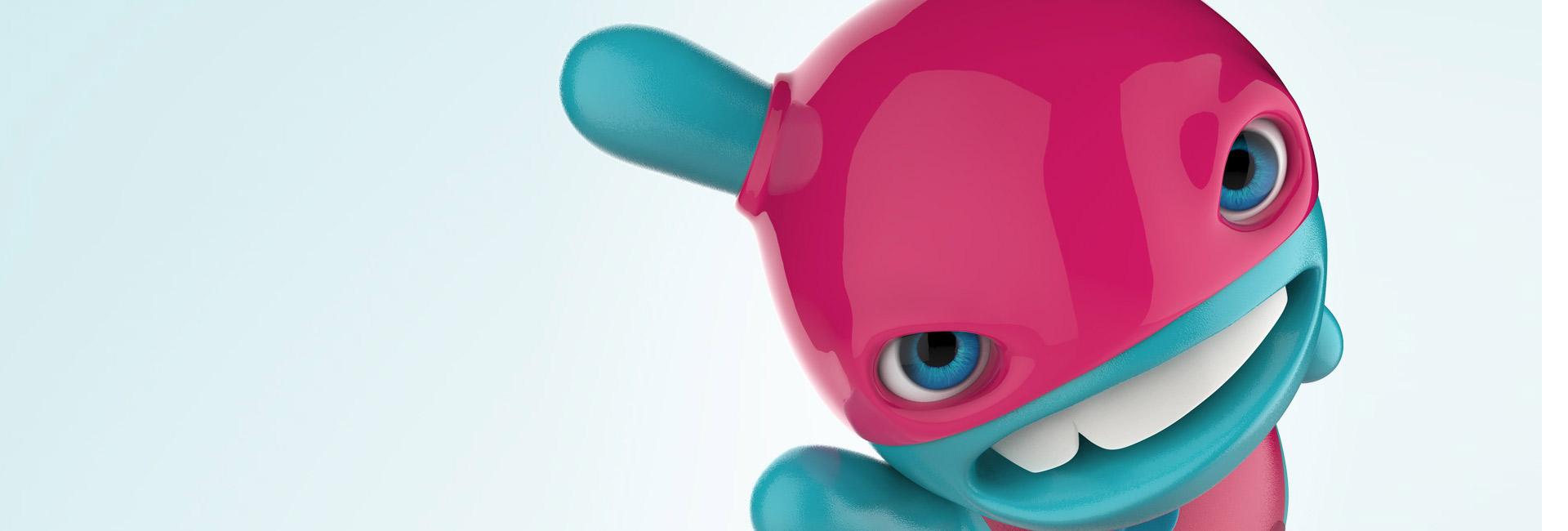 Franšízový Maskot Design a Vývoj 3D