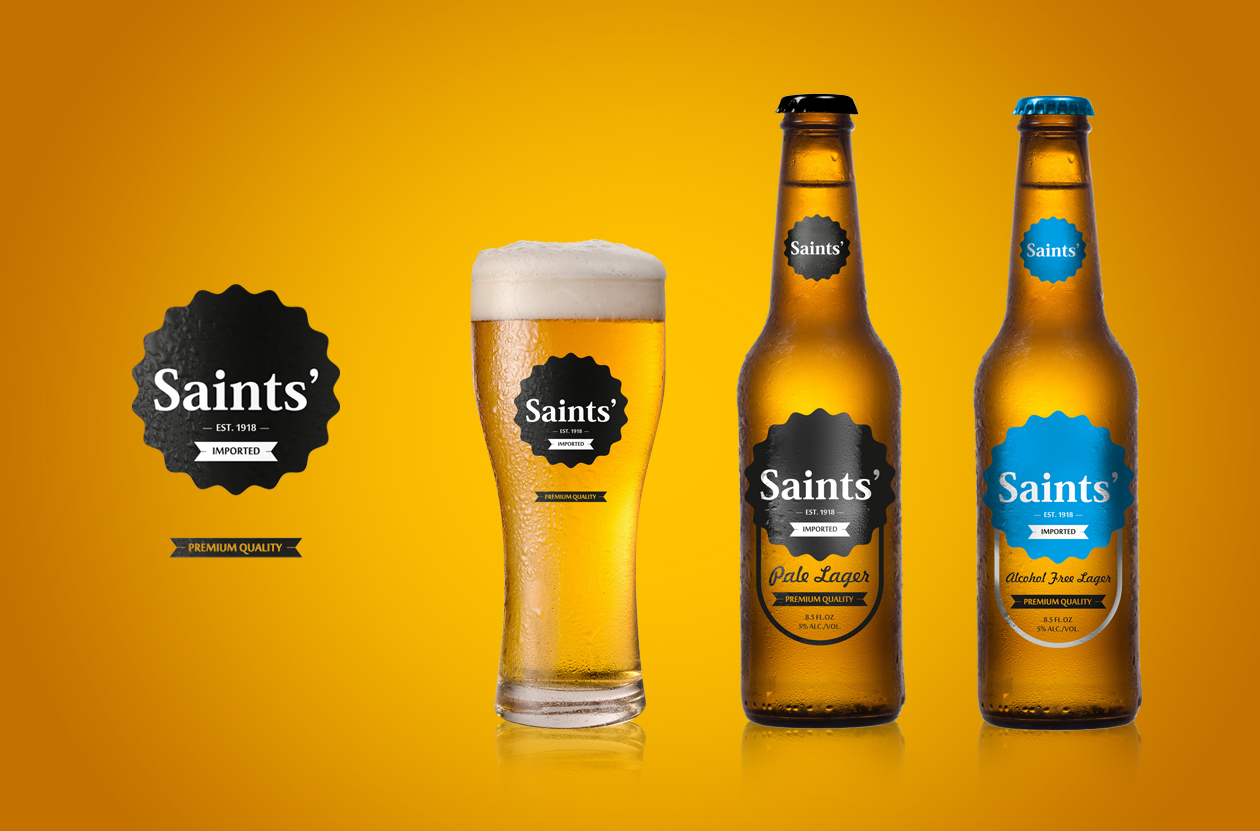 packaging Saints advertisement 2018 MAISON D'IDÉE