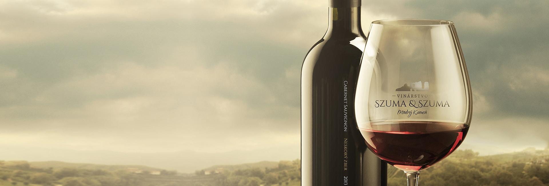Branding a packaging design pre vinárstvo Szuma & Szuma