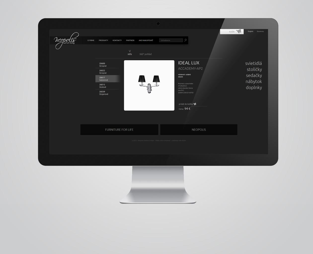 webdesign Art of Living MAISON D'IDÉE