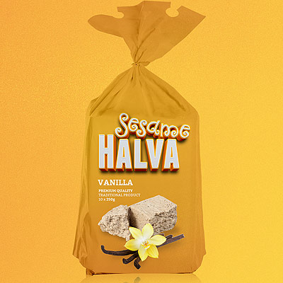 Sesame Halva Branding & Packaging Design