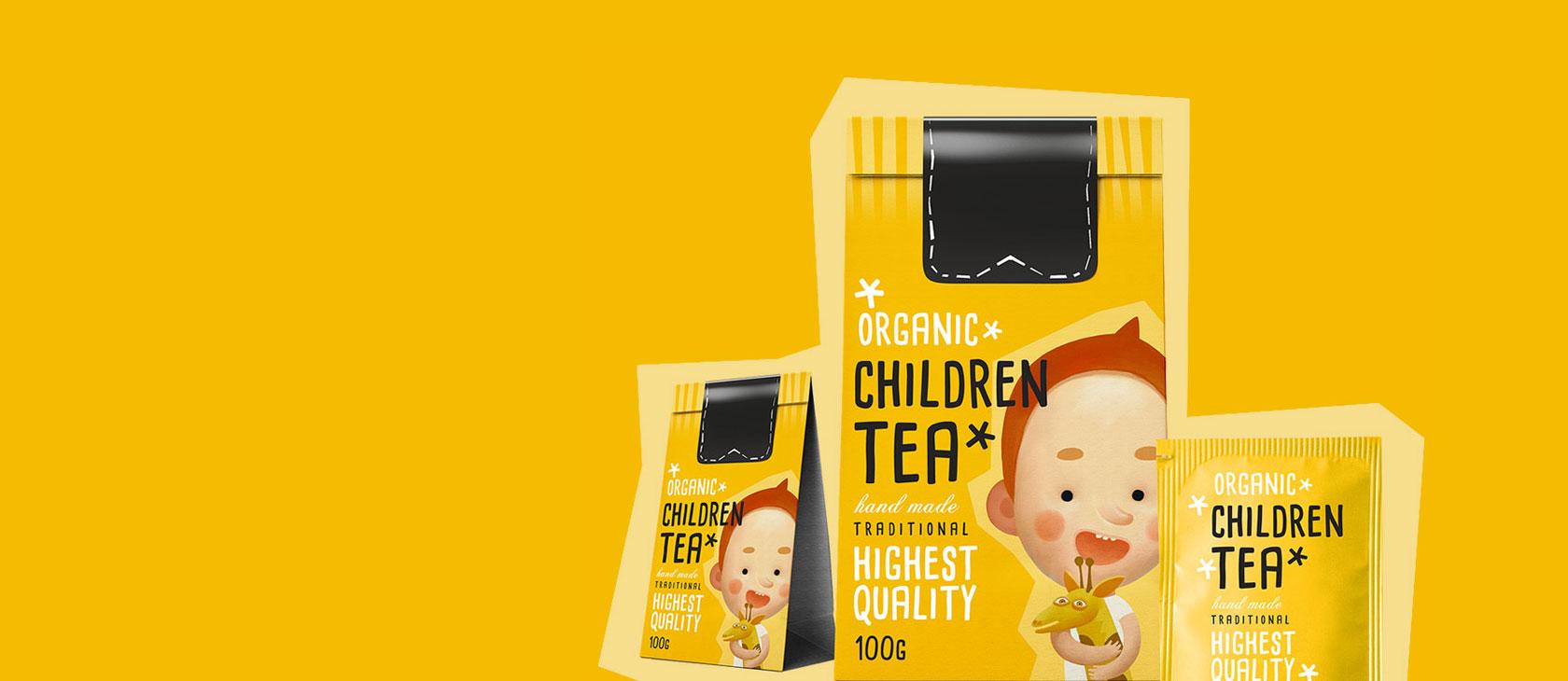 Branding a koncepce obalů pro čaje