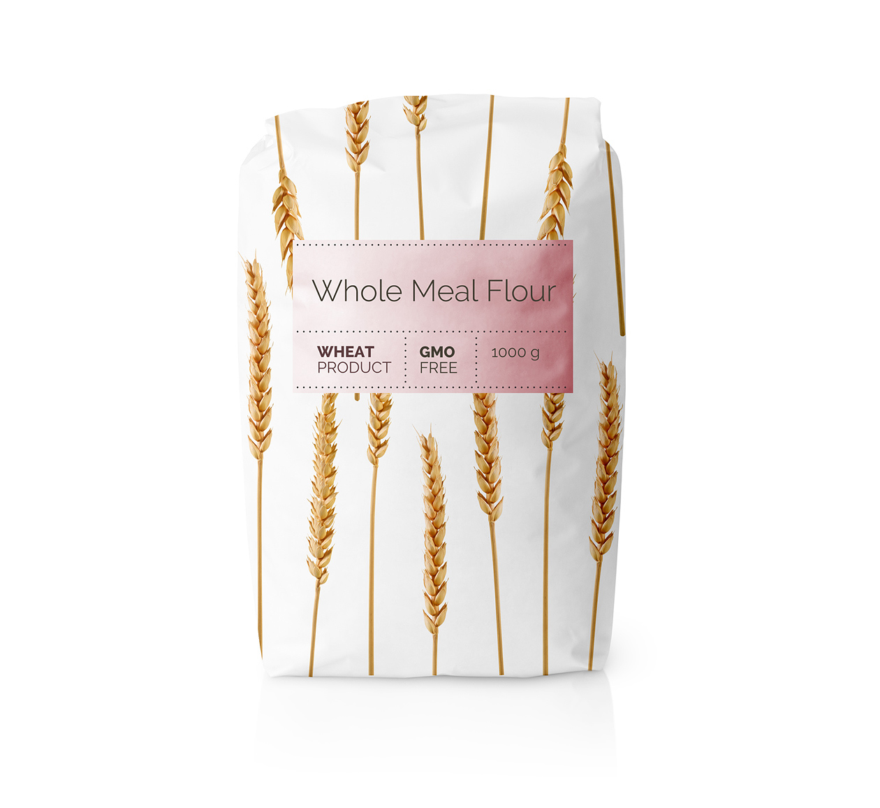 Our Work View Our Digital Print Web Projects: Minimalist Packaging For A Series Of Flours