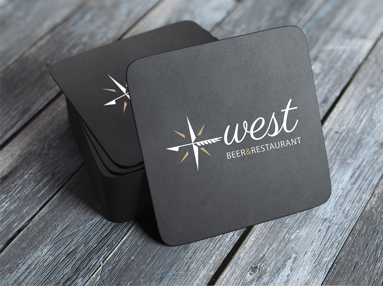 logo design West MAISON D'IDÉE