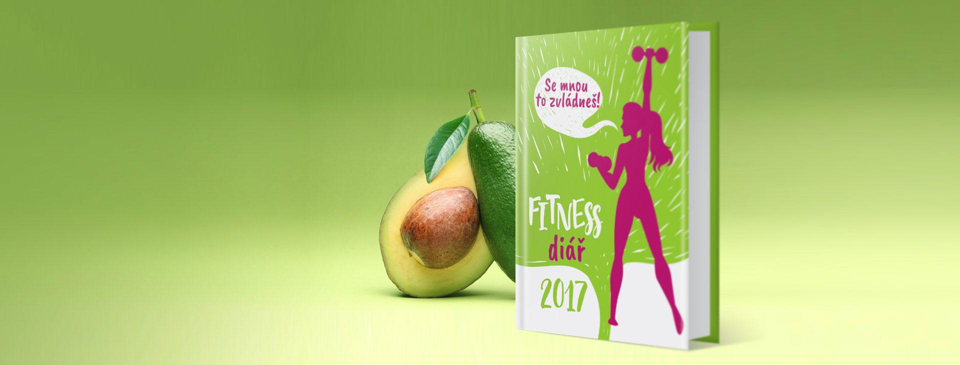 Nový fitness diář na rok 2017 je konečně tady
