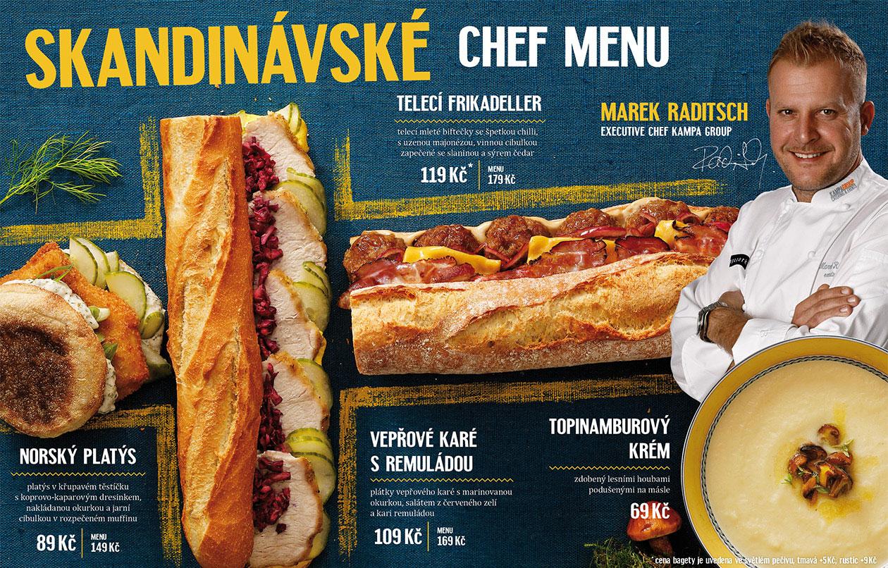 design Bageterie Boulevard menu MAISON D'IDÉE