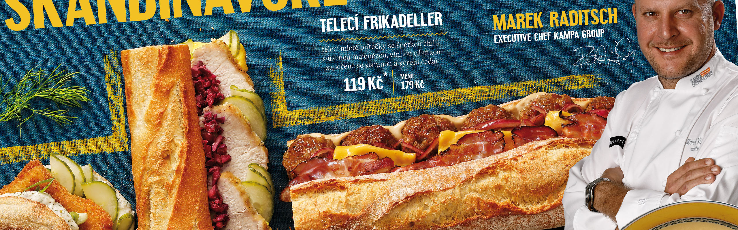 Pohrali sme sa s dizajnom <span>škandinávského menu pre Bageterie Boulevard</span>