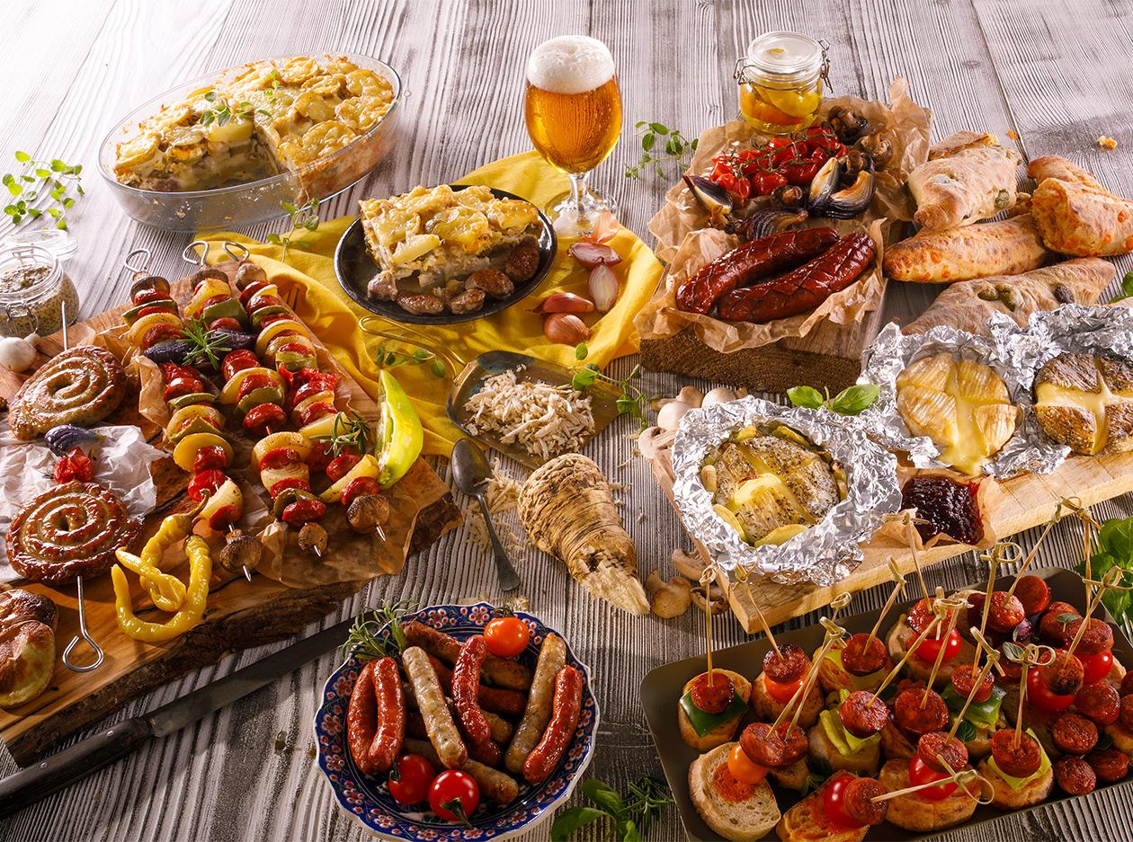 foodstyling fotografia Kaufland grilovanie
