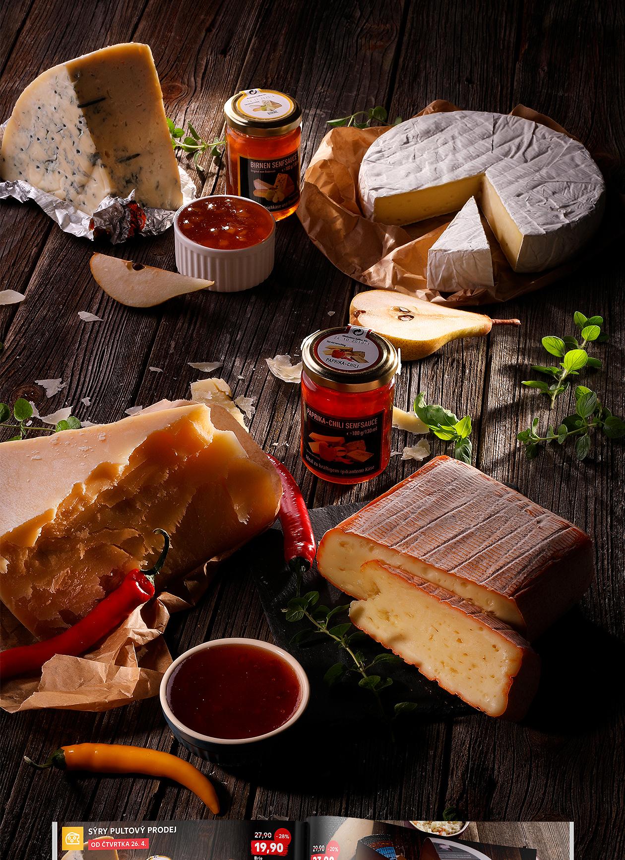 foodstyling fotografia Kaufland syry