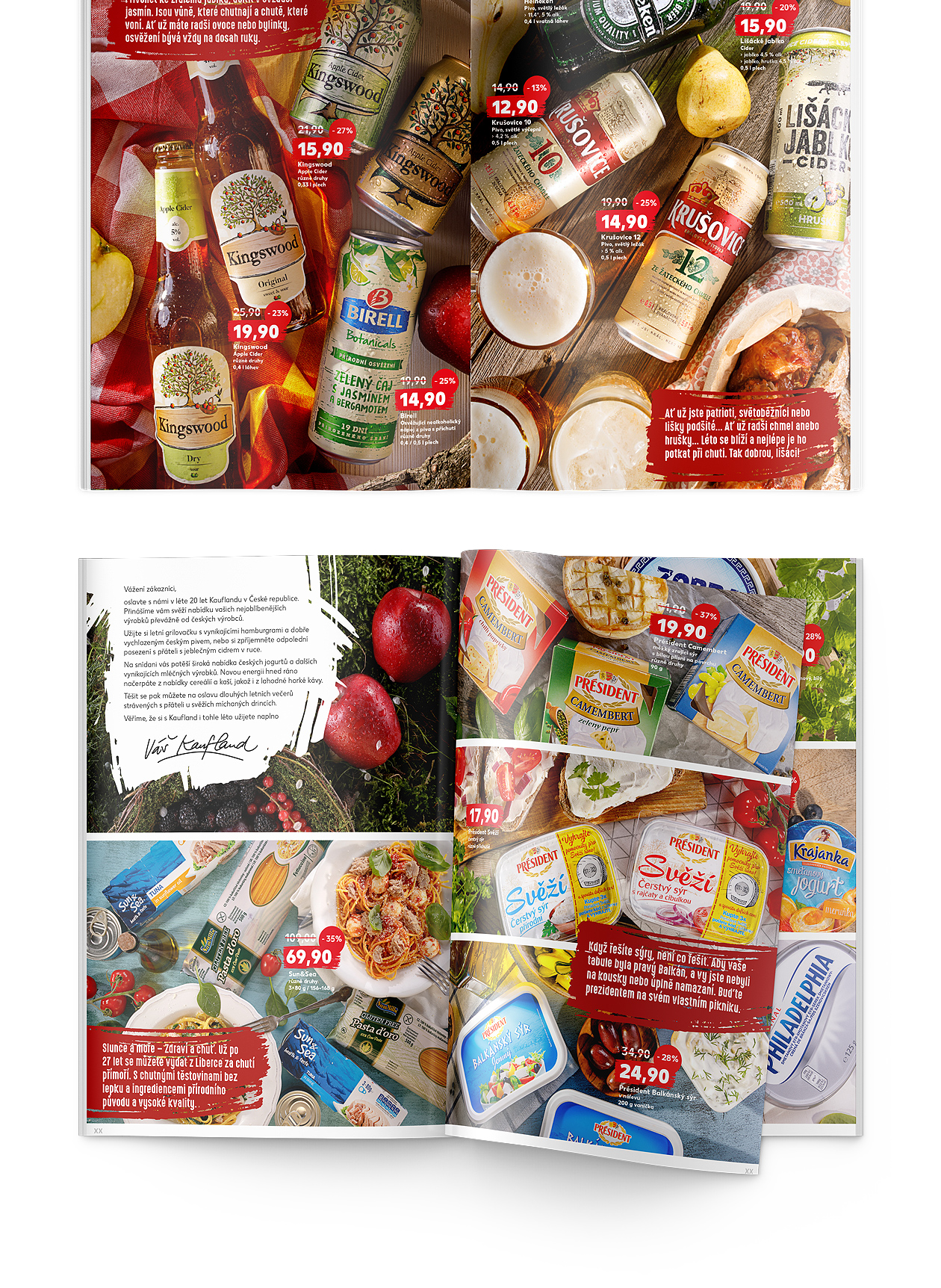 foodstyling fotografia Kaufland katalóg