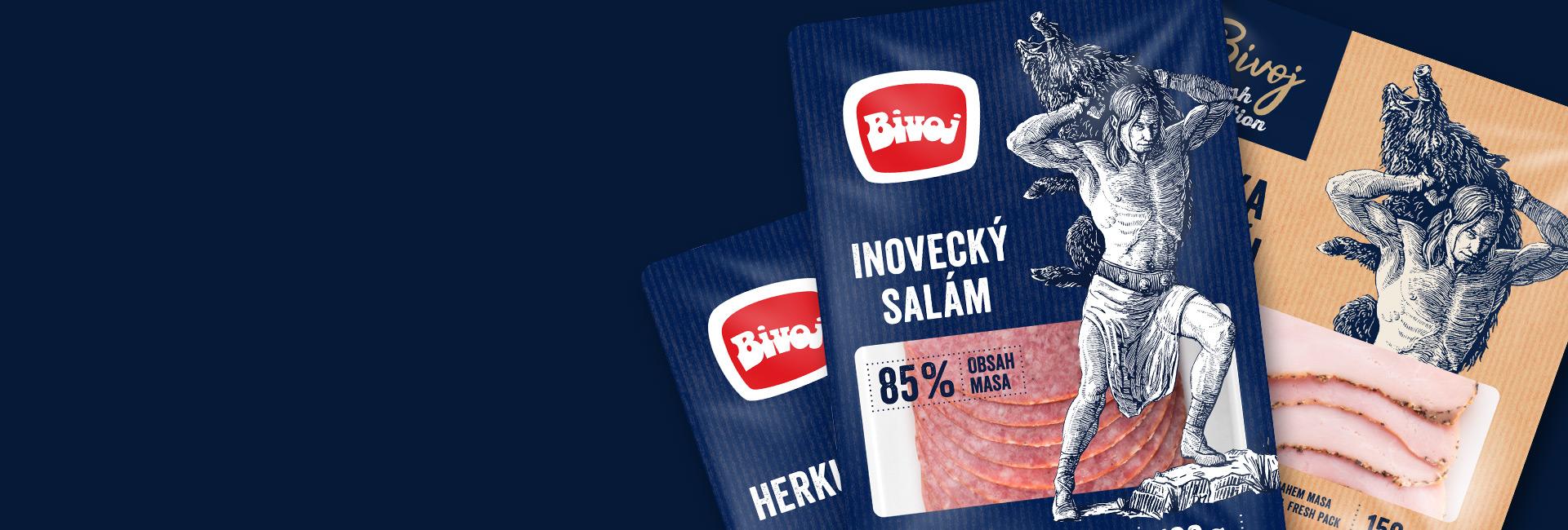 Máme za sebou úspešný rebranding a packaging design pre značku Bivoj