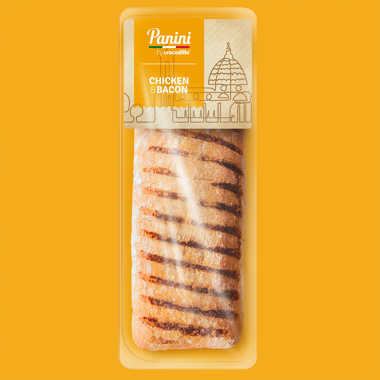 packaging Panini by Crocodille