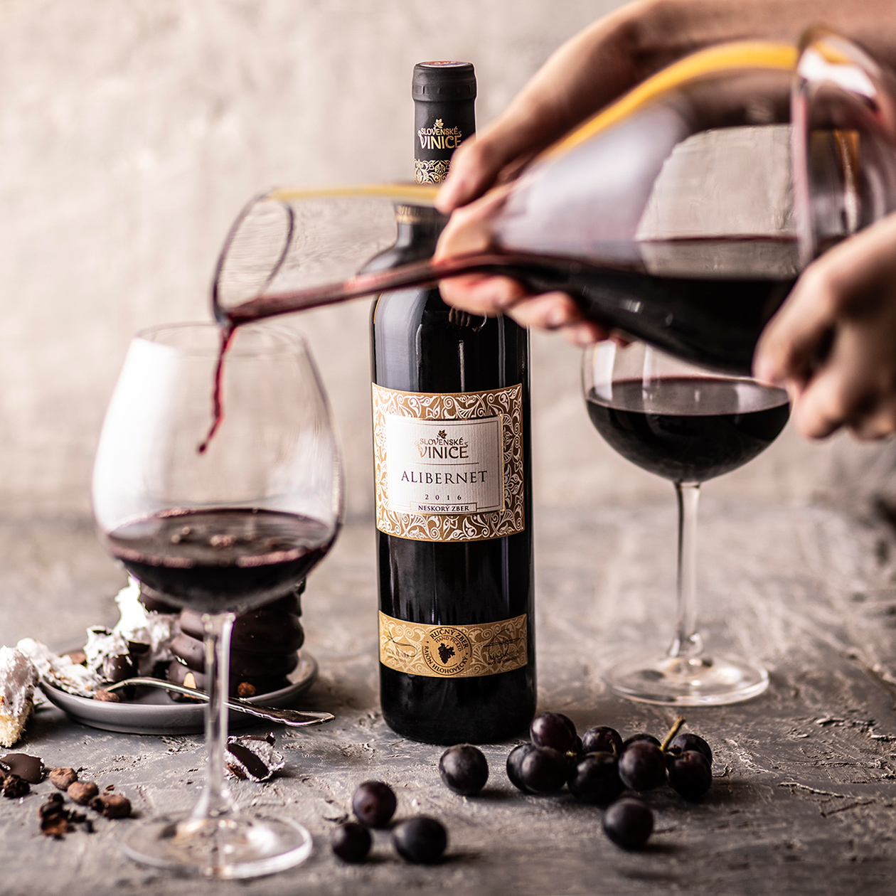 photography foodstyling wine slovenske vinice