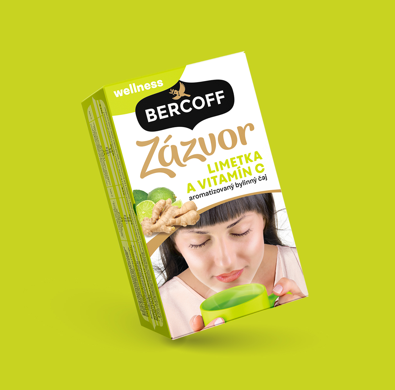 bercoff zazvor packaging