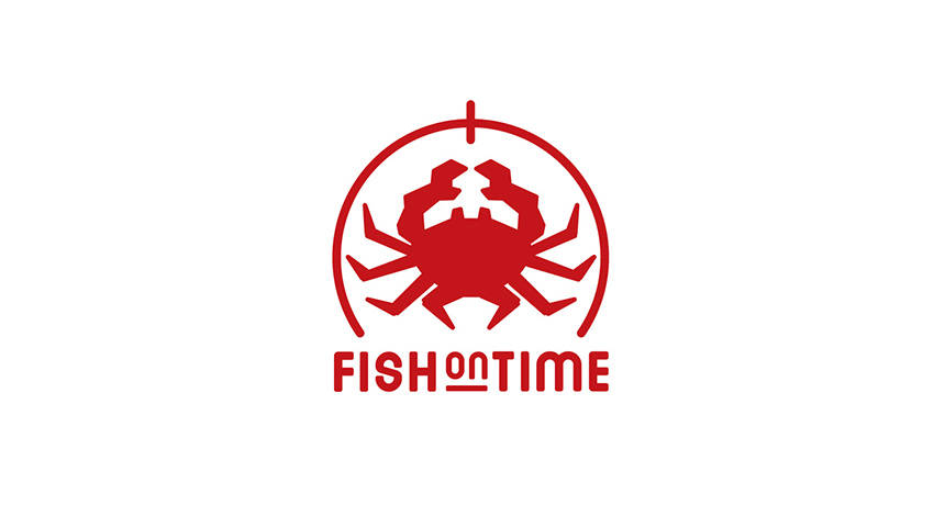 logo design fishontime