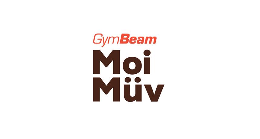 logo design gymbeam moi muv