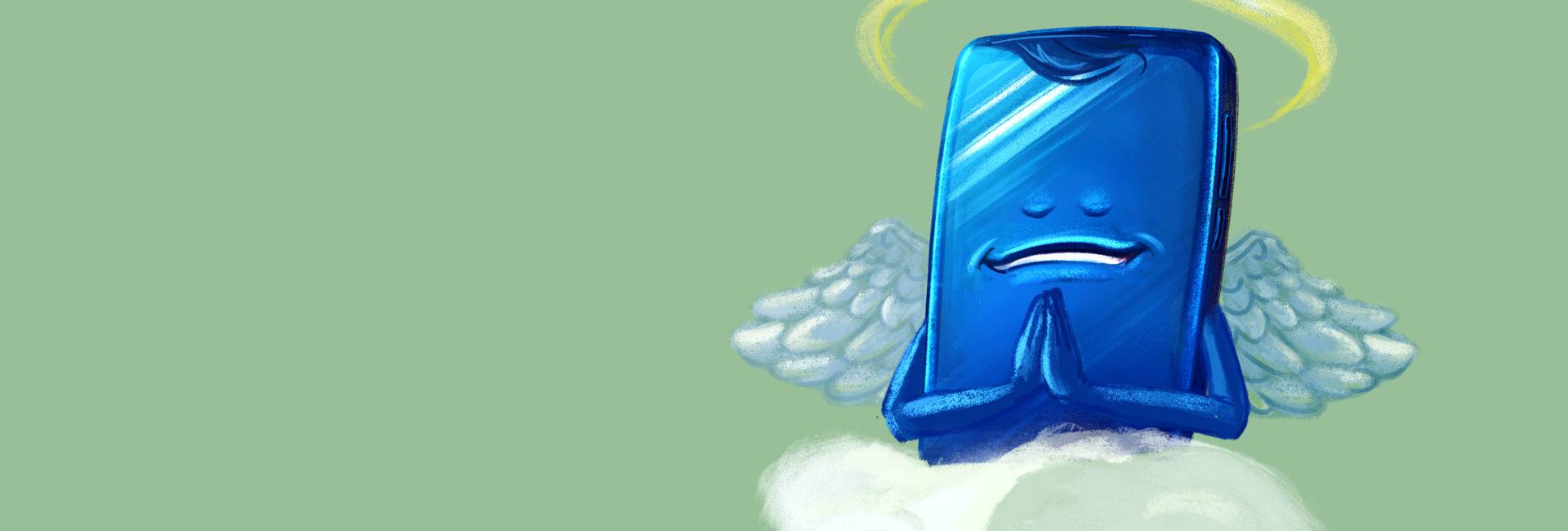 mobil ilustracie superintro