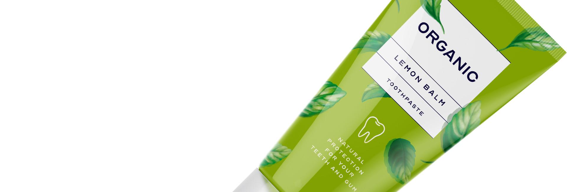 organic toothpaste cosmetics intro