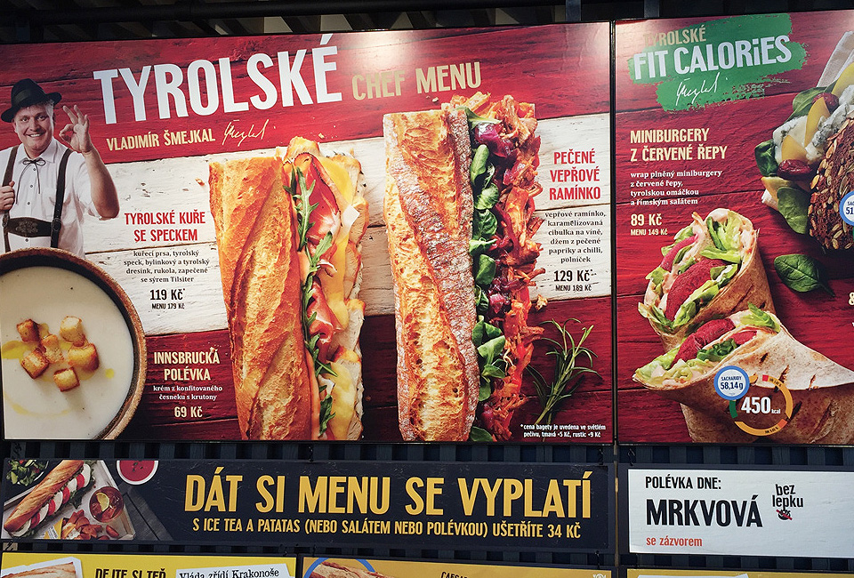bageterie boulevard chef menu tyrolske intro