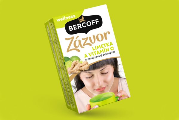 packaging bercoff tea zazvor