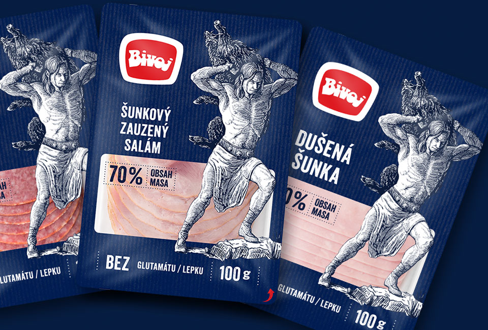 packaging bivoj salam sunka intro