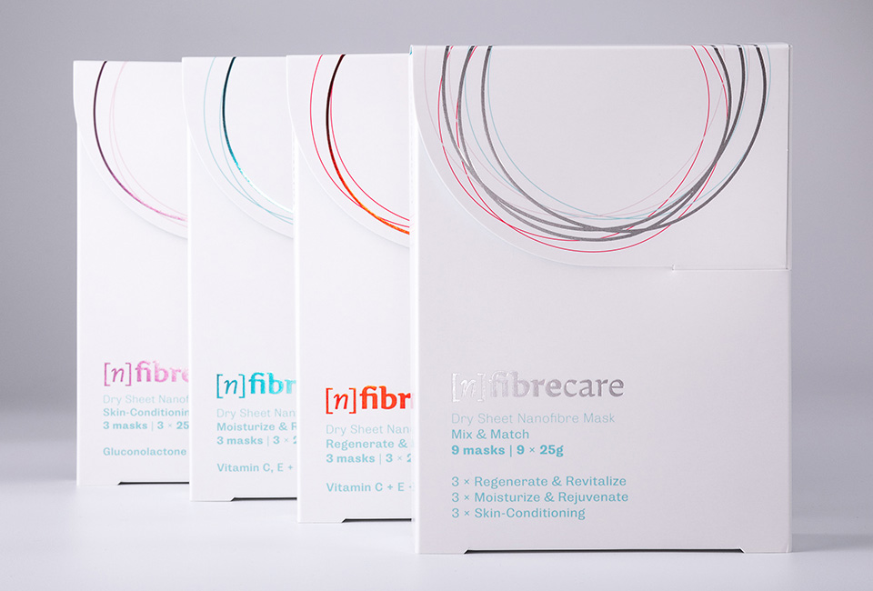 packaging fibrecare masks intro