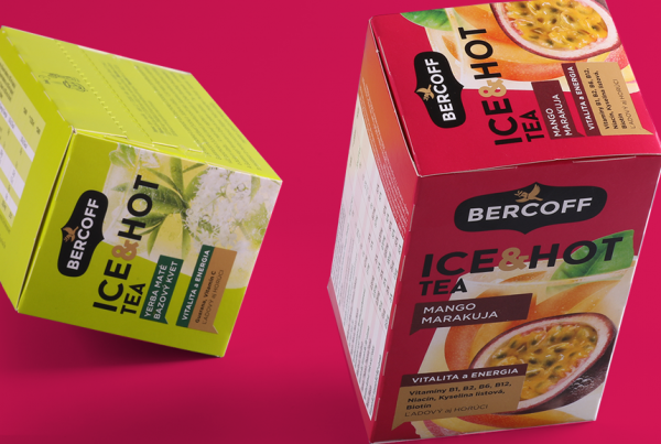 packaging ice hot tea intro