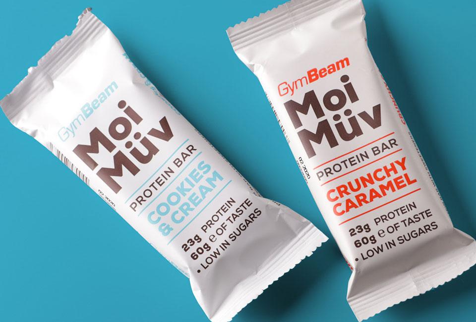 packaging moimuv proteinbar gymbeam intro