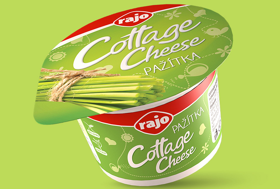 packaging rajo cottage cheese intro