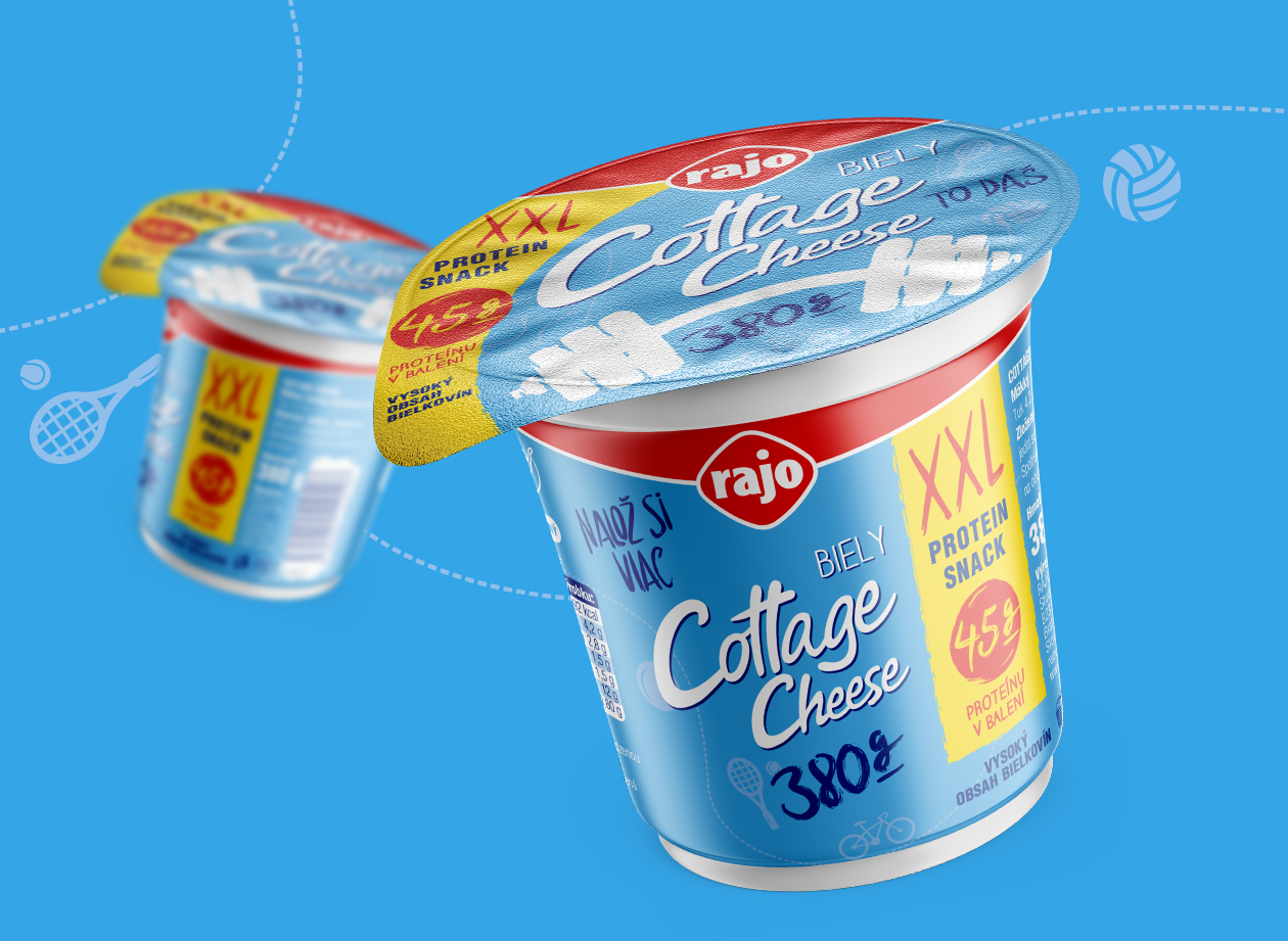 rajo cottage cheese maison packaging