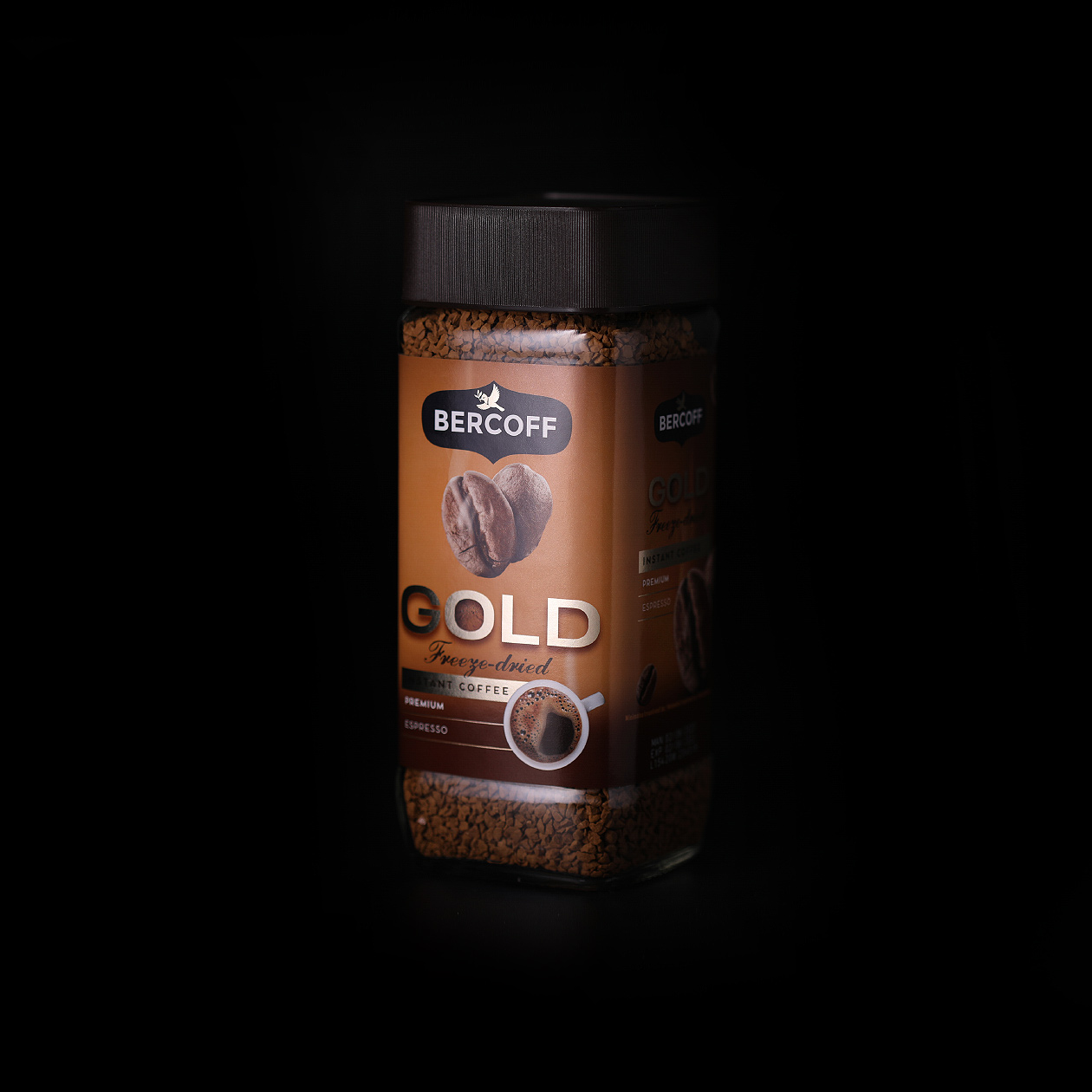 packaging-bercoff instant coffee gold 02