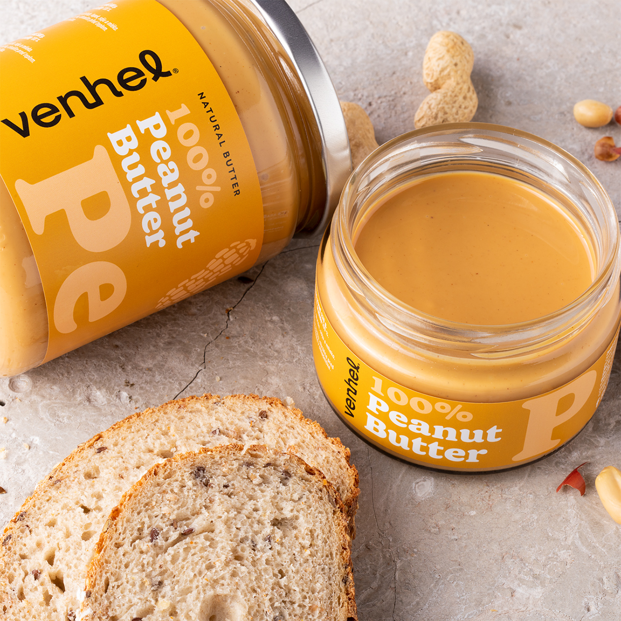 venhel packaging peanut butter