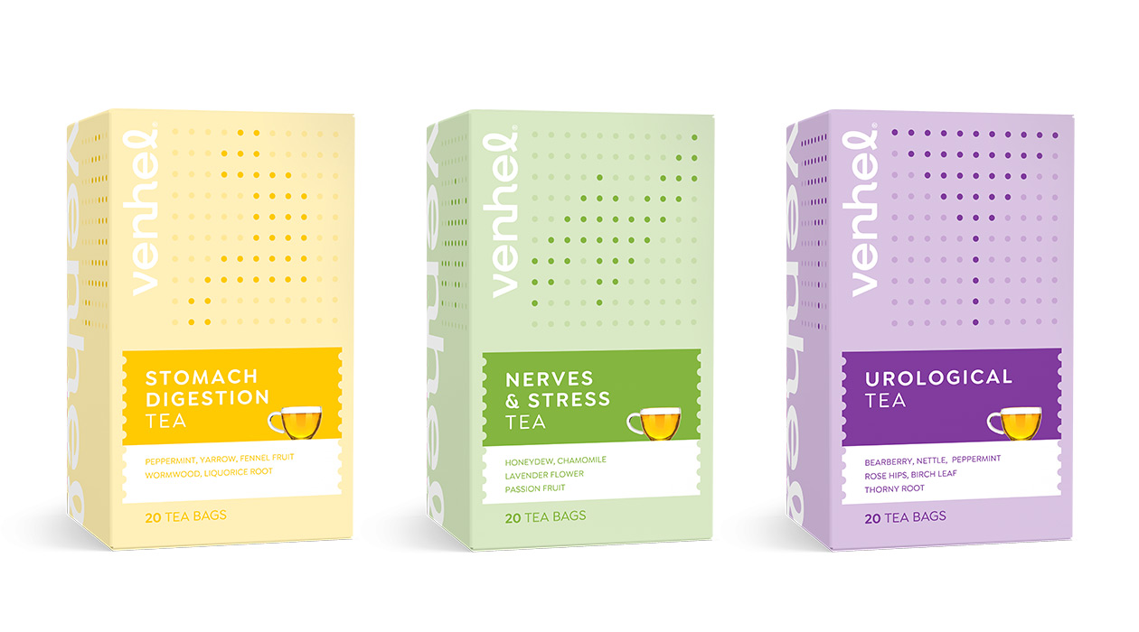 venhel tea medical packaging