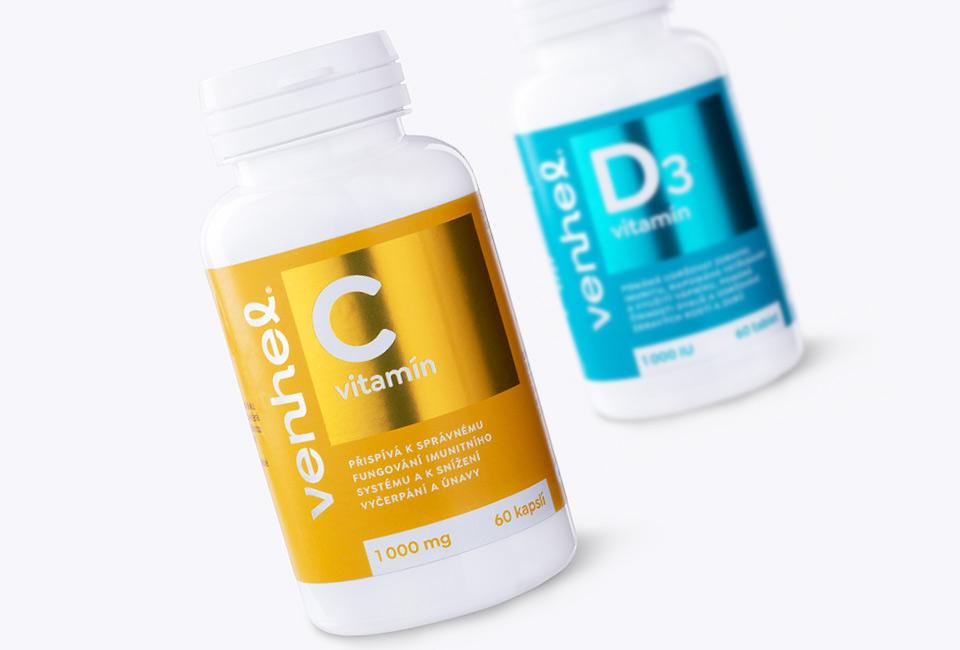 venhel vitamins packaging intro