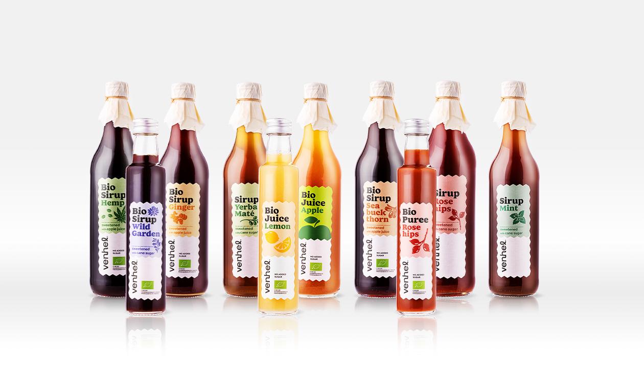 venhel packaging sirup