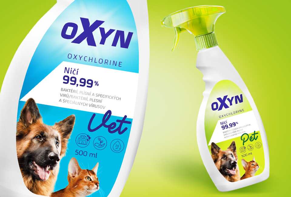 packaging oxyn veterinary cleaner intro